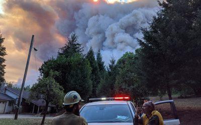 Fires Ravage Klamath Basin